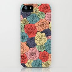 VINTAGE ROSES iPhone & iPod Case by Bows & Arrows - $35.00