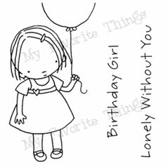 Pure Innocence My Balloon Clear Stamps MFT   eBay