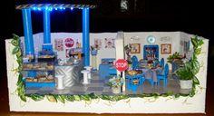 Mini-ambiente bar-ristorante... con illuminazione.