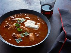 Spicy Mexican Chili with Chicken Finger Dumplings Recipe : Food Network Kitchen : Food Network - FoodNetwork.com