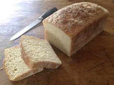English Muffin Toasting Bread - A perfect loaf for beginning yeast bakers.