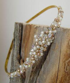 Pearl Tiara, Freya, part of the beautiful budget bride range
