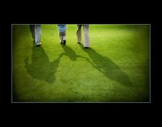 Golf Course Photo - Holding Hands