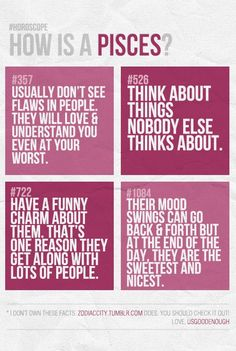 So true about not seeing peoples flaws! I'm blindly optimistic and always try to see the good in people.