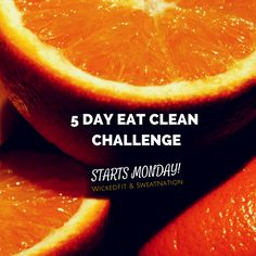 Our Free 5 Day Eat Clean Challenge Starts Monday 10/6!  What's Included in the 5 Day Eat Clean Challenge? -Private FB group.  -Full shopping list (available on Sat/Sun so you can prep) -Your 5 day meal plan complete with recipes so there's NO guesswork! -Daily accountability -MOTIVATION!   What do we need from you? Your commitment to the group for 5 days. It is that simple! Just friend me on Facebook before 10/5 to join us facebook.com/kaleesorey