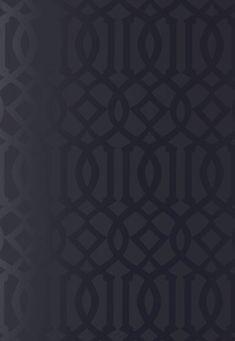 ImperialTrelis,onyx gloss. brand:Schumacher