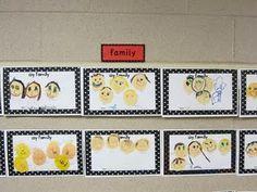 Kindergarten Family Portraits!