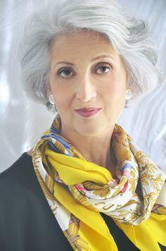 The Beauty of Gray Hair - Vartali Hair Salon