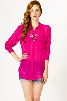 chiffon button, color, collars, necklac, basic chiffon, buttons, denim shorts, boyfriends, shirt