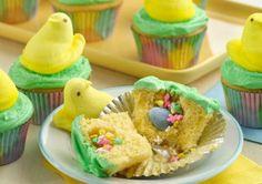 Chick Surprise Cupcakes