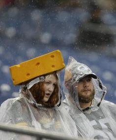 Cheeseheads best umbrella ever.