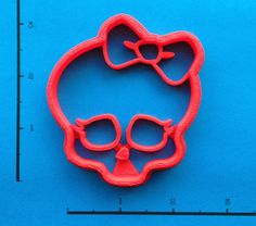 Monster High Logo Cookie Cutter by WarpZone on Etsy, $4.50