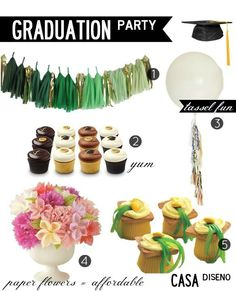 Entertaining Weekly: The Graduation Party #graduation #hosting #entertaining #decorating