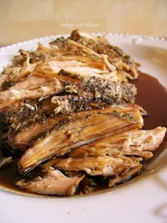 Baking with Blondie : Slow Cooked Sweet Balsamic Glazed Pork Tenderloin
