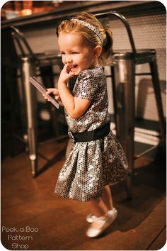 fairytale frocks and lollipop ella party dress, e-pattern
