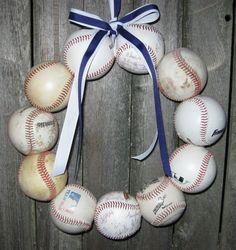 The Original Texas Christian University Baseball Love Wreath - no hat or letter