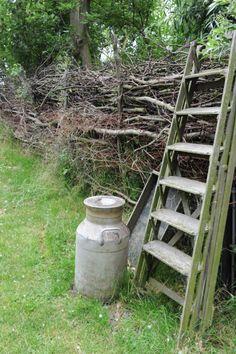 Twiggy fence.....love....