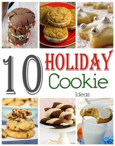 10 Holiday Cookie Id