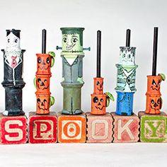 spooky spools, halloween