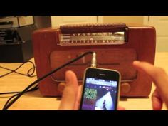 How to Make an Old-Time Radio Into an Mp3 Player Speaker