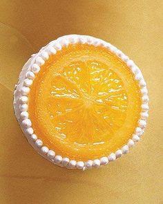 Orange-Vanilla Bean Cupcakes Recipe