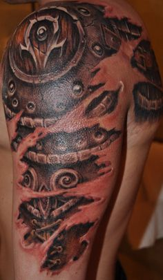 World of Warcraft Horde Armor Tattoo