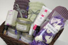 gift basket - DIY all natural bath www.mydoterra.com/everhealthyfitness