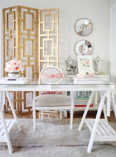 home office decor and style