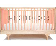 pink crib!
