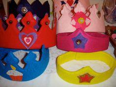 More felt crowns