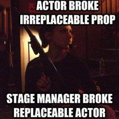 Fronkensteen Lounge: Theatre Humor! My Best Theatre Jokes