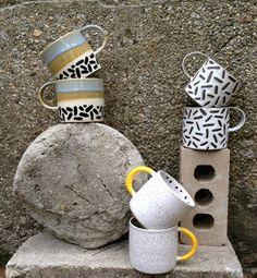 Beautiful mugs by Recreation Center.