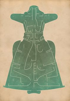 Map/Dress