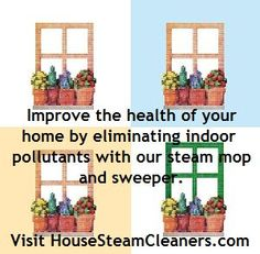 How healthy is your home environment? Visit us to find out how our #vacuum #steam #cleaner can help!