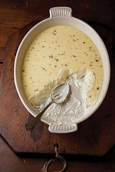 vanilla-rum custard recipe