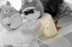 Wedding Cake Topper-love Totoro by charles fukuyama, via Flickr