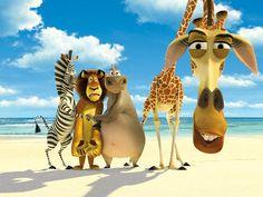 Alex, Marty, Gloria,Melman