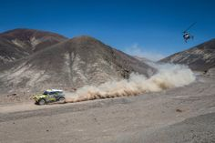 In hot pursuit of a hat-trick title at the Dakar Rally.