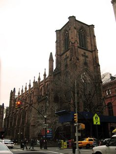 Holy Trinity Church Brooklyn New York City  - go to church at one of the old churches in NYC.