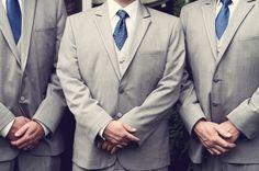 blue ties wedding ideas, tux idea, blue tie