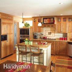 Create an Open, Craftsman-Style Kitchen