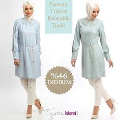 Tuncay - Yakası Boncuklu Yeşil Tunik Ürün Kodu:2523 Fiyatı 129,90 TL den 69,90 TL ye düştü! Beden seçenekleri: 38-40-42-44  İncelemek için lütfen tıklayınız: www.tesetturisland.com #şal #tesettur #hijab #modatesettur #hijabfashion #tunik