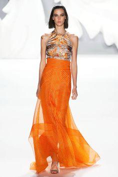 Carolina Herrera Spring 2013 skirt, 2013 rtw, herrera spring, orang, style, fashion week, carolina herrera, carolinaherrera, spring 2013