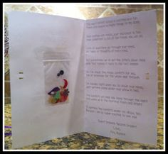 Night Before First Day of School Poem and Confetti