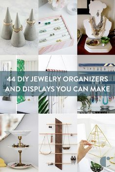 DIY jewelry organizer roundup: Display your jewelry with these DIY jewelry holders and storage ideas you can make yourself.