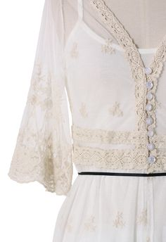 Floral Mesh Lace Frock
