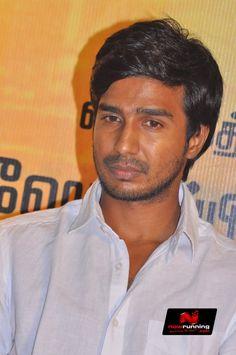 Actor Vishnu Vishal at Jeeva Movie Audio Launch