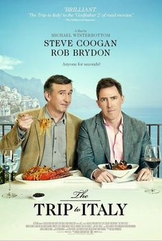 Michael Winterbottom's Foodie/ RoadBuddy / Comedy sequel to 2010 The Trip (click for T&T post) starring Steve Coogan and Rob Brydon opens in Philadelphia on August 29th.   I have 20 (admit 2) screening passes to give away for the Preview Screening on Thursday, August 21, 2014 at Ritz 5 7:30pm  ENTER TO WIN!  Tinsel & Tine (Reel & Dine): Win The Trip to Italy - Screening Passes in Philly