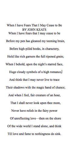 Keats.