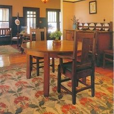 Arts  Crafts/Craftsman/Mission* Style Furnishings for Period Home Decor. Great deals can still be found on authentic antique Arts and Crafts furniture and new furniture in the style is also popular.Rug design is beautiful arts and crafts style.